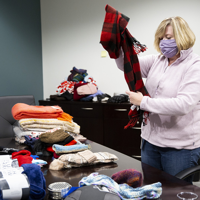Sorting Wrapped in Warmth items